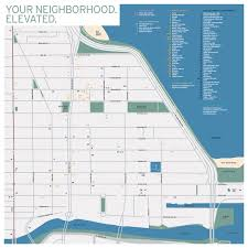 Green Line Chicago Map by Your Neighborhood Streeterville Chicago Mcclurg Court