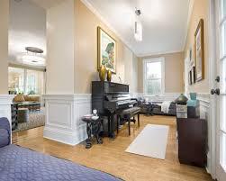 living room black piano gold antique vase plant decor mount