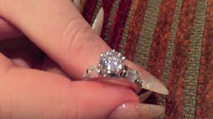 best cubic zirconia engagement rings 1 5 carat high quality cubic zirconia engagement ring 14k
