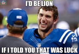 Andrew Luck Memes - nfl memes on twitter andrew luck keeps the magical colts run