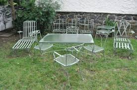 Patio Furniture Wrought Iron by Wrought Iron Glider Outdoor Furniture Vintage Wrought Iron Outdoor