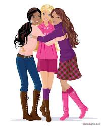 barbie friends cartoon image galleries