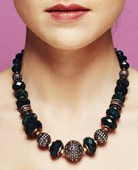 natural stone beads necklace images Jewelry designs avani jpg