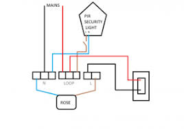wiring outdoor pir light throughout outside lights diagram in wiring