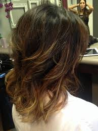 medium length hair with ombre highlights brown ombre hair medium length