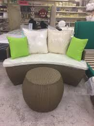 Half Moon Tables Living Room Furniture by Rattan Half Moon Sofa Set In Thurmaston Leicestershire Gumtree