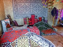 ornaments of central asia culture kalpak travel