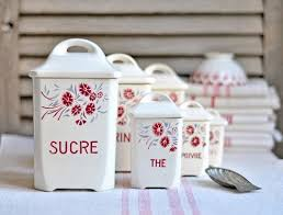 115 best vintage german french czech canisters images on pinterest