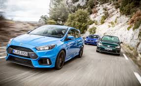 subaru gtr 2015 2016 ford focus rs vs subaru wrx sti vw golf r u2013 comparison test