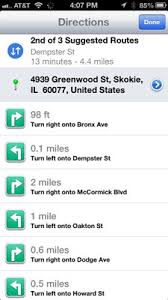 print driving directions from iphone smart tricks of the iphone maps app dummies
