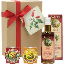 gift set badger sore soothing gift set badger balm