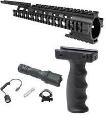 ruger 10 22 light mount ruger 10 22 10 22 rifle quad rail handguard mount led light vertical