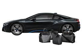 bmw supercar black louis vuitton customizes luggage set for 2014 bmw i8 motor trend