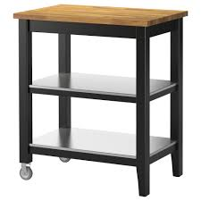 kitchen island trolley stenstorp kitchen trolley black brown oak 79x51x90 cm ikea