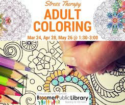 coloring bleskacek family memorial library