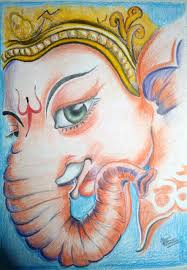 lord ganesha hand made sketch best deals with price comparison