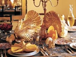 happy thanksgiving why gold silver set for historic turn king