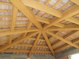 tetto padiglione travi lamellari industriali edil lamberti