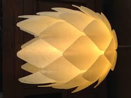 home interior white pine cone lamp shade beautiful lighting