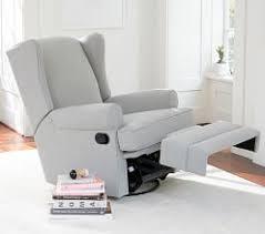 Kersey Upholstered Swivel Glider Recliner Upholstered Chairs Glider Chairs Nursing Chairs U0026 Ottomans