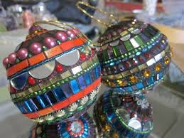 15 best mosaic ornaments images on mosaic stained glass