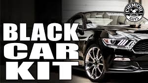 Mustang Car Black Basic Black Car Detail Mustang Shelby Gt350 Chemical Guys
