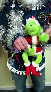 ugly christmas sweaters that light up and sing singing animated tacky grinch ugly christmas sweater light up for