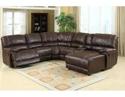 reclining sectional sofa brown bonded leather recliner malaysia