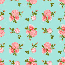 classic wallpaper seamless vintage flower classic wallpaper seamless vintage flower pattern on blue background