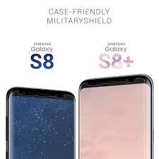 samsung galaxy s8 plus case friendly screen protector u2013 armorsuit