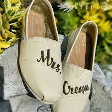 wedding shoes toms custom painted bridal wedding toms shoes free shipping
