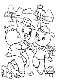 pigs winning dance coloring pages batch coloring