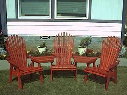 Redwood Adirondack Chair Redwood Fan Back Chair Gold Hill Redwood Products