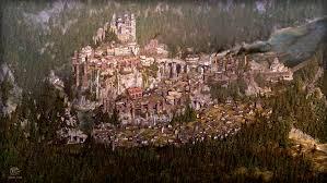 Minecraft City Maps Medieval City Map Illustration U2013 Thomas Schmall
