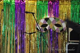 mardis gras decorations masquerade mardi gras mask decorations the handy homemaker