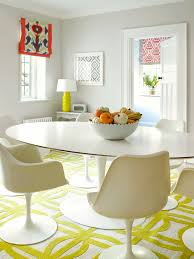 Mid Century Dining Room Chairs by Eiffel Chairs Dowel Base Dining Room Contemporary With White