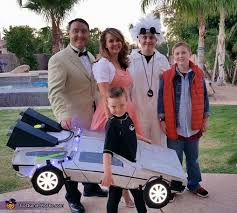 back to the future costume back to the future family costume