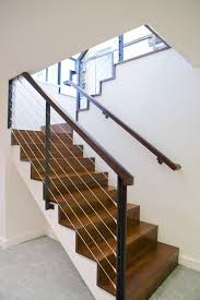 Stair Banisters And Railings Ideas Stair Railing Ideas Staircase Modern With Carpet Texture Basement