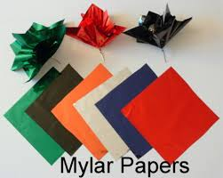 mylar tissue paper mylar paper poofs add color to your party centerpieces party