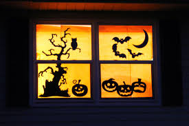 decorations for halloween unified window halloween decorations for your house