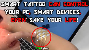 duoskin smart tattoo can control your pc and smart devices youtube