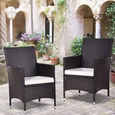 Ebay Wicker Patio Furniture Wicker Patio U0026 Garden Chairs Ebay