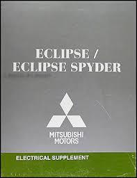 2008 mitsubishi eclipse u0026 spyder wiring diagram manual original