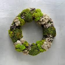 Wreath For Front Door Mixed Moss Wreath Front Door Wreaths Terrain