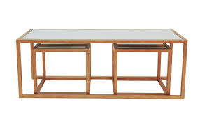 furniture nested side tables nesting coffee table