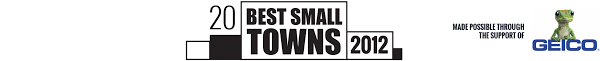 the 20 best small towns in america of 2012 travel smithsonian