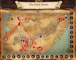 map quests image map the great desert quests jpg order and chaos