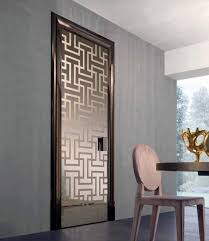 Modern Glass Interior Doors Interior Doors Styles Matching Of Dominant Designing Style Of A