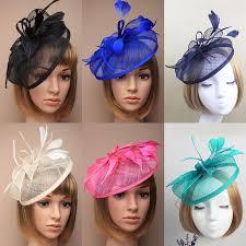 small fascinators for hair vintage birdcage bridal hats handmade flowers fascinator