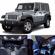 Jeep Led Lights Amazon Com Led White Lights Interior Package Kit For Jeep